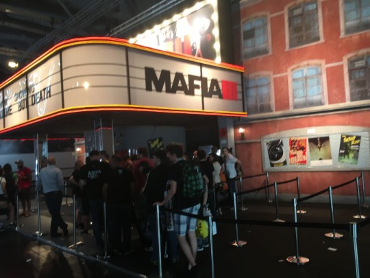 Great booth for Mafia 3