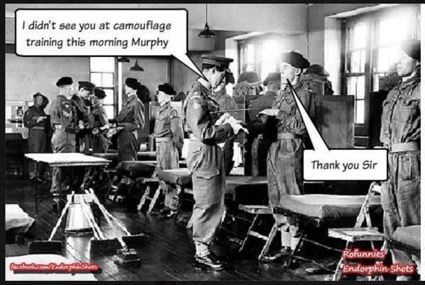 Camouflage-training